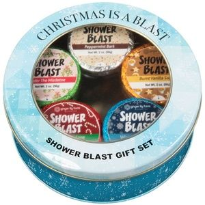 Christmas Is A Blast Shower Blast Tin Gift Set